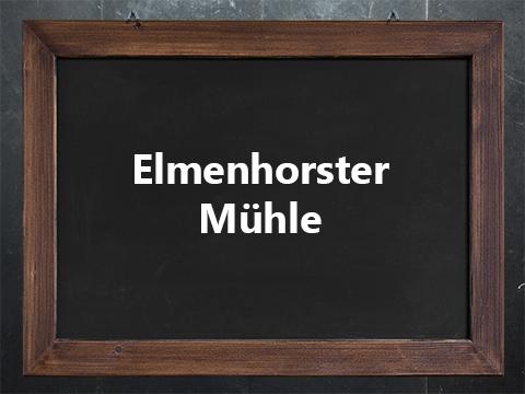 Logo_Elmenhorster Mühle_Waltrop