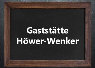 Gaststätte Höwer-Wenker