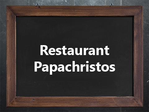 Logo_Restaurant Papachristos_Waltrop