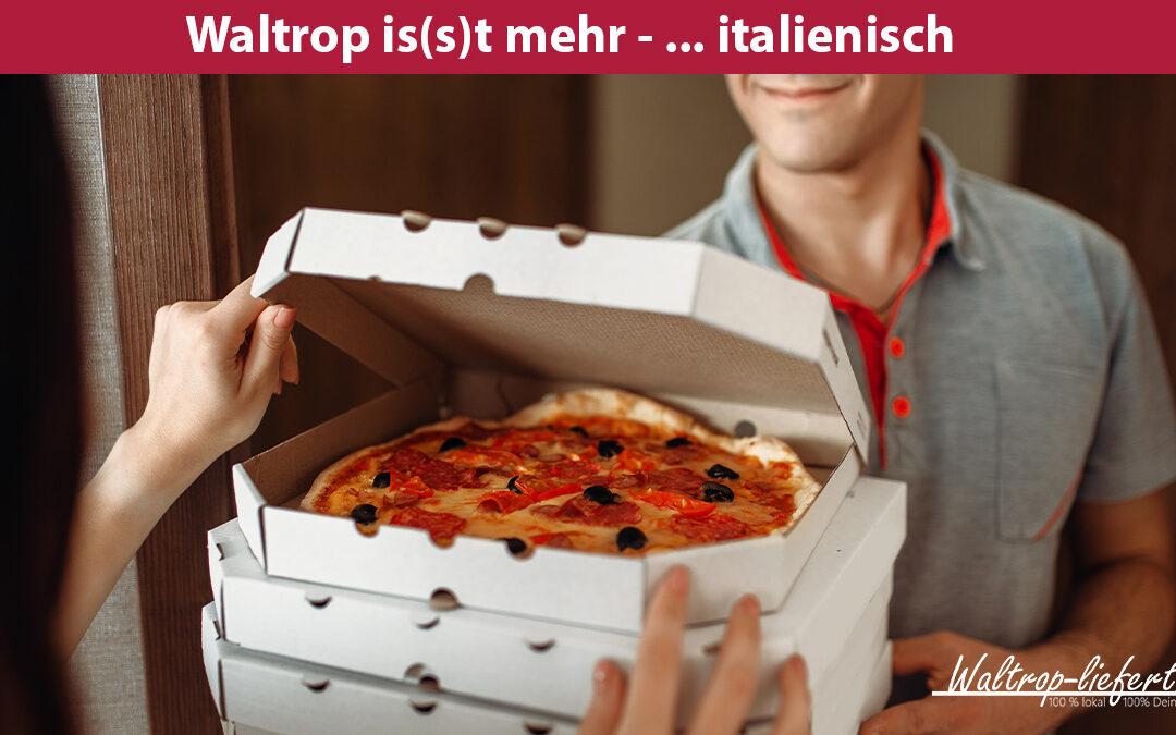 Pizzataxi für dich – einfach Pizza bestellen in Waltrop